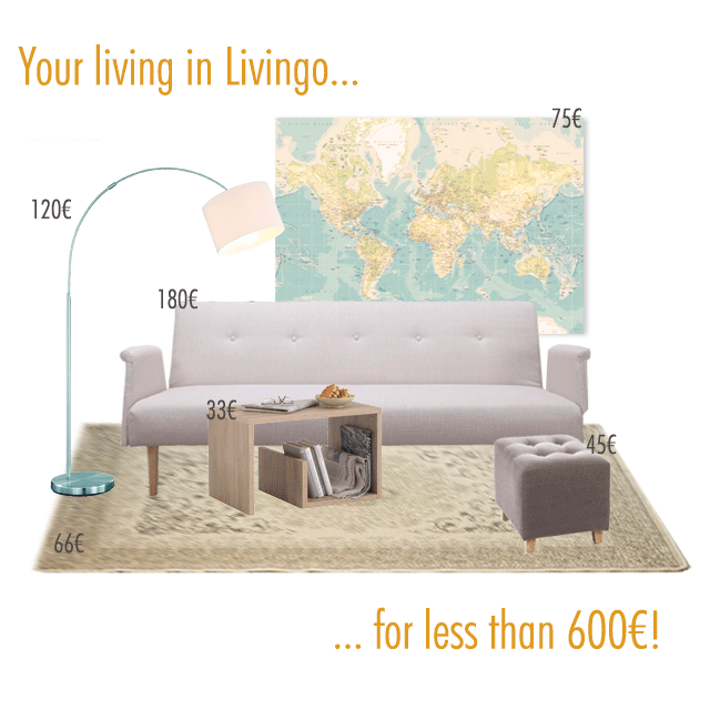 Livingo, furnish your house in one click