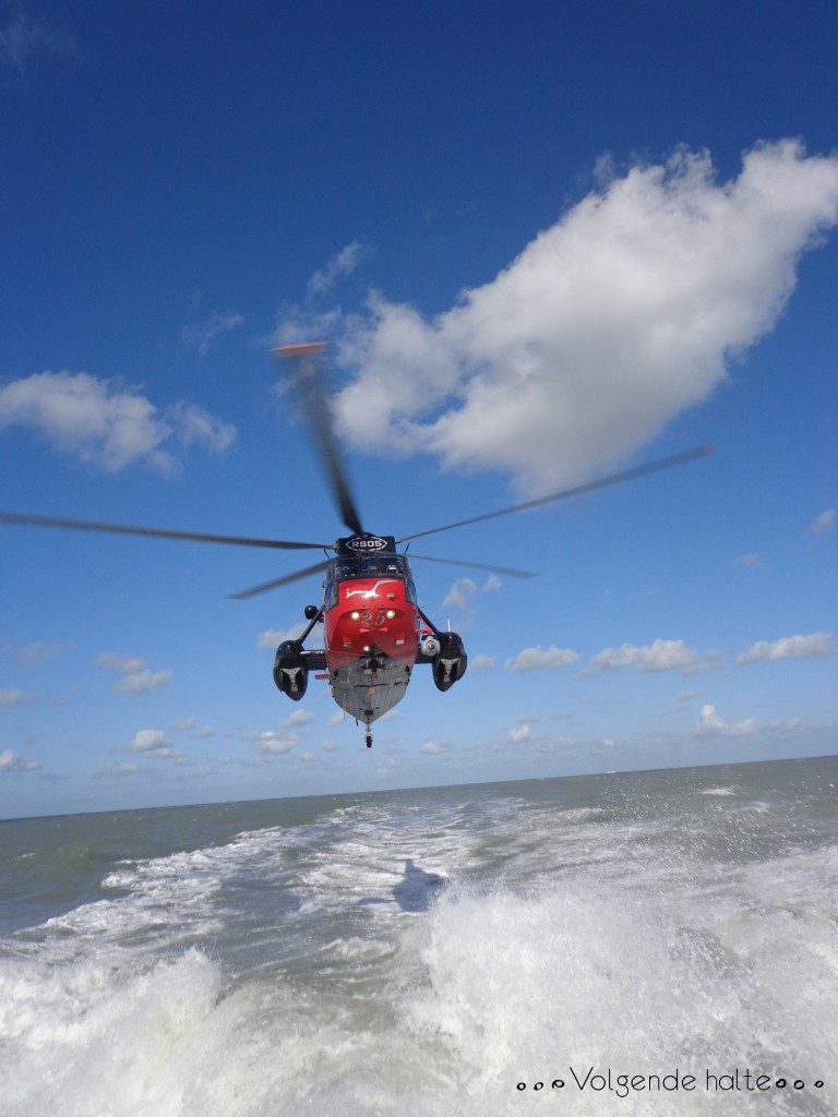 "Molinos en alta mar: Helicóptero ""Sea-King"""