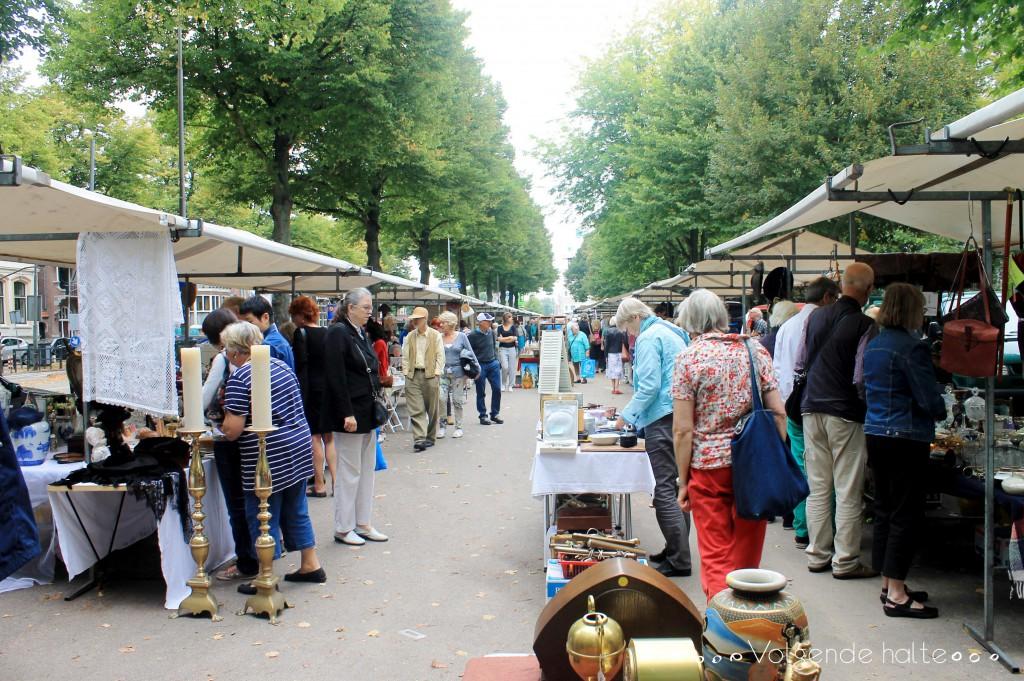 Mercaditos en Holanda: Antiek markt
