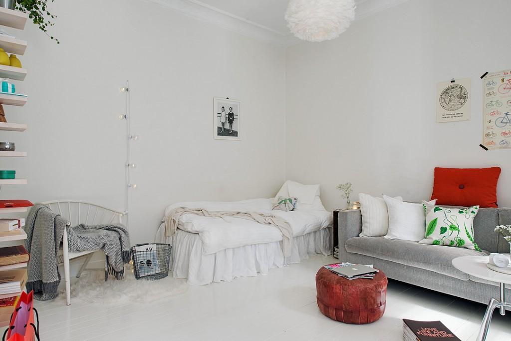 Pisos pequeños: Salón - Dormitorio