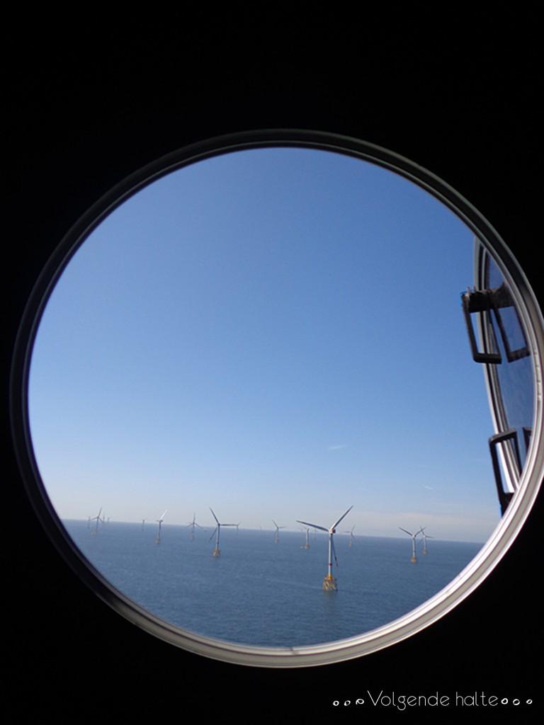 Molinos en alta mar: Vistas desde el buje