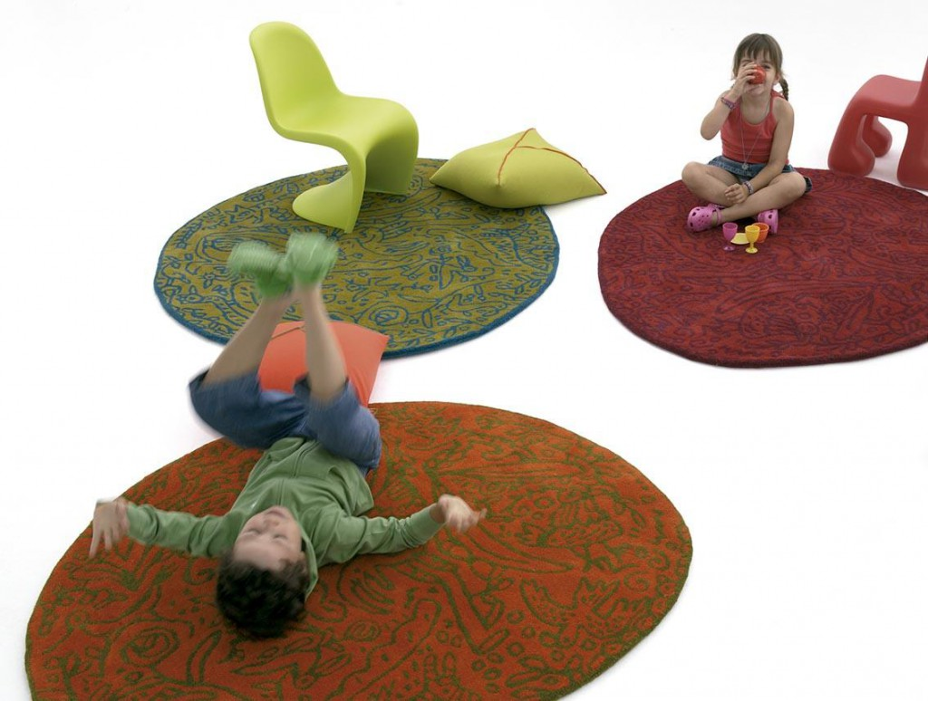 Nanimarquina, alfombras para andar descalzo