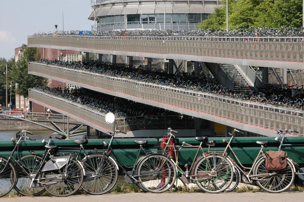 Bicletas en Amsterdam
