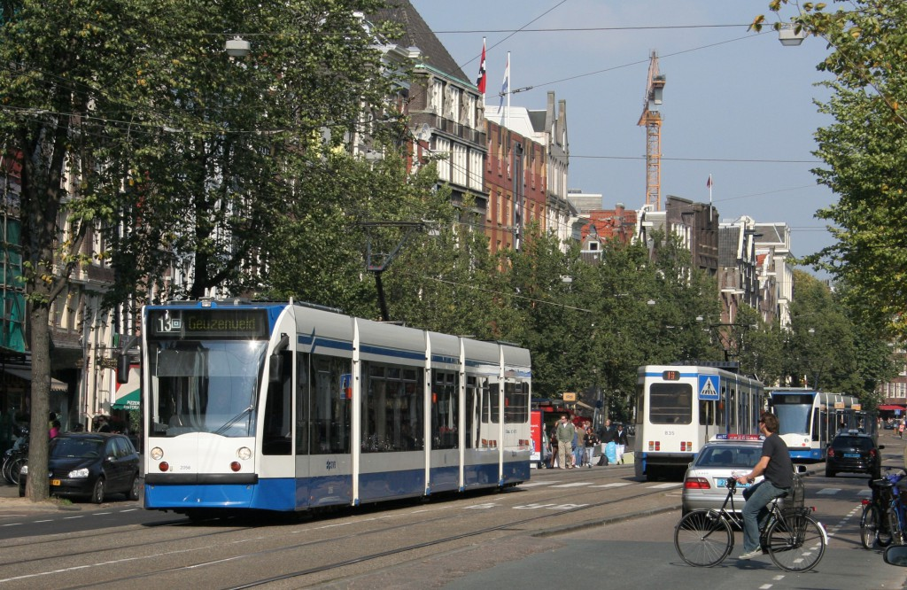 Transporte público Amsterdam