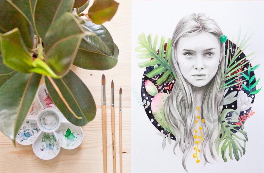 Naranjalidad, arte en femenino