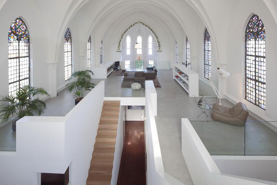 Arquitecturas recuperadas: de iglesia a vivienda