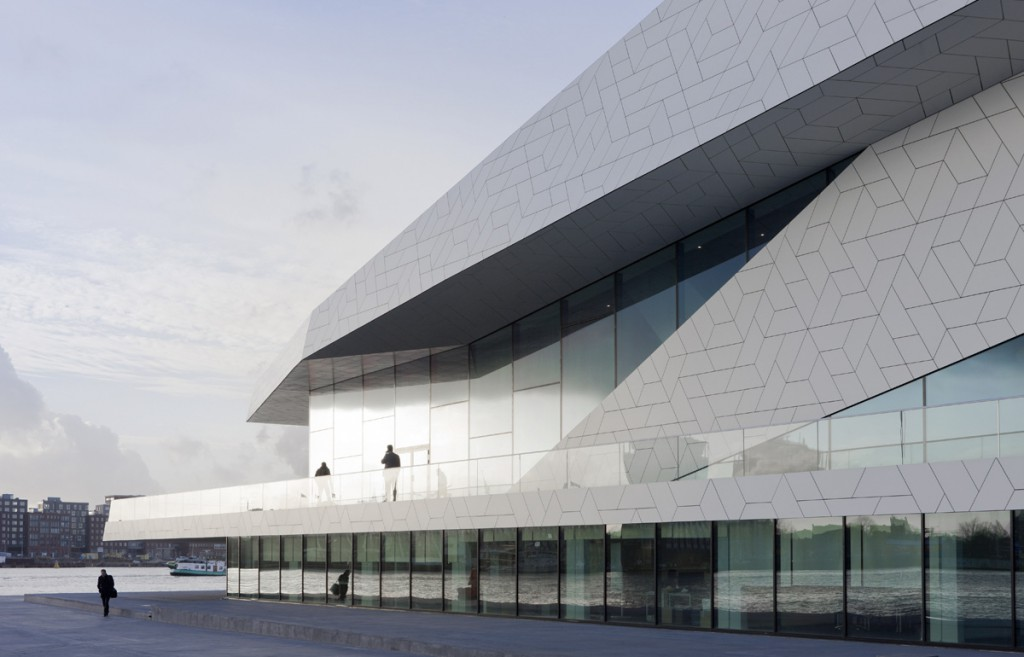 Architectura en Holanda: EYE Film Institute, Amsterdam