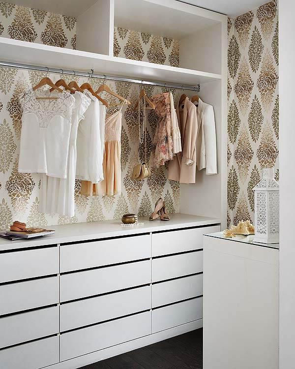 Cómo organizar un pequeño vestidor