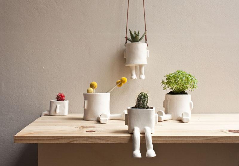 Wacamole ceramic unas macetas muy simp ticas volgende halte Macetas ceramica online
