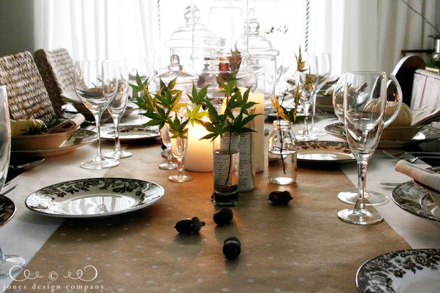 Cómo organizar una mesa de Navidad