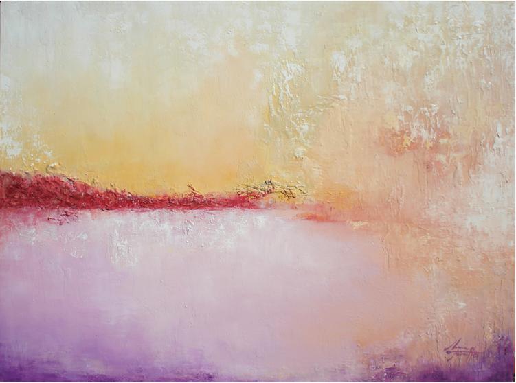 María Miralles y su arte abstracto
