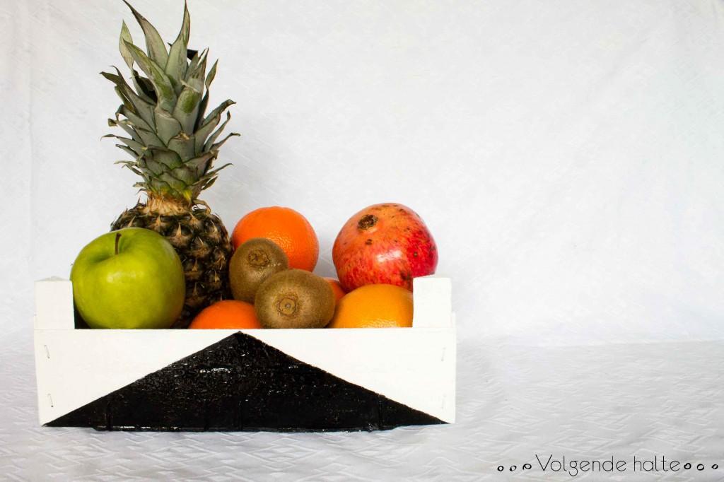 DIY: Cajas de fruta recuperadas