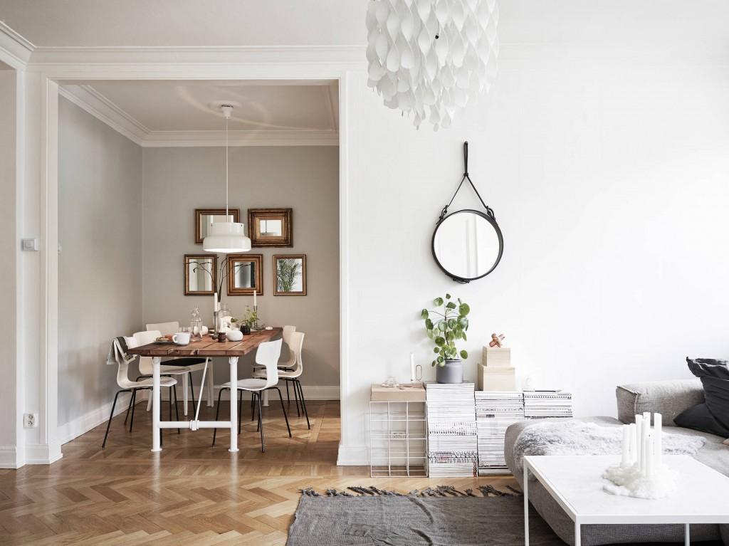 Un piso que inspira tranquilidad