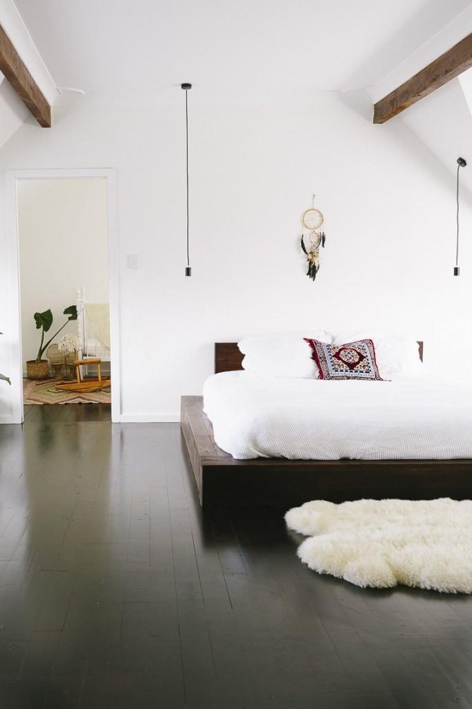 Una casa bohemia y natural