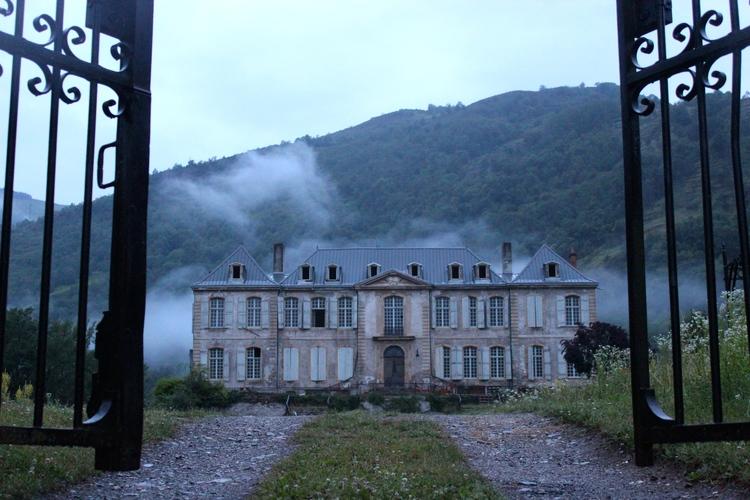 La restauración de un palacio abandonado