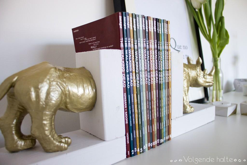 DIY: Sujeta Libros Rino