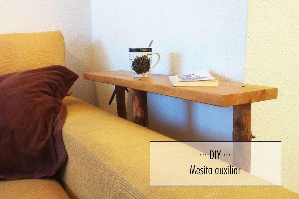 Diy mesita auxiliar volgende halte - Mesita auxiliar sofa ...