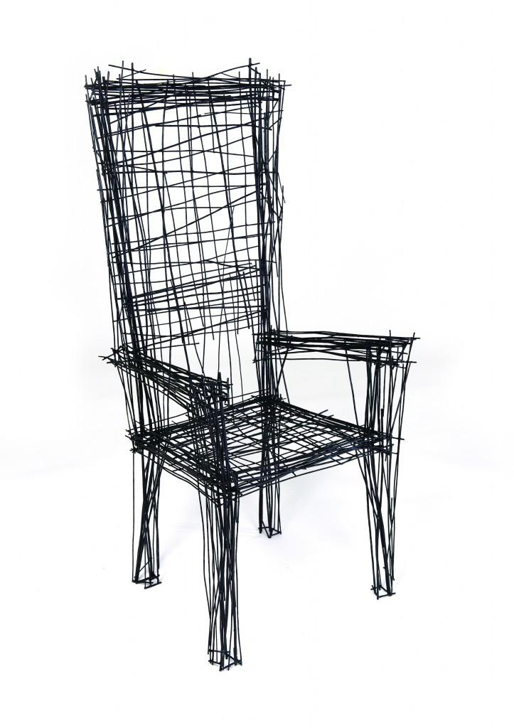 Los muebles dibujados de Jinil Park