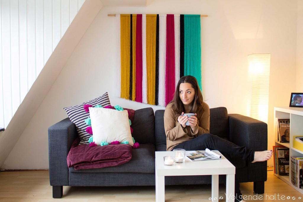DIY: Un tapiz de lana