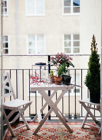 Aprovecha al máximo tu pequeña terraza