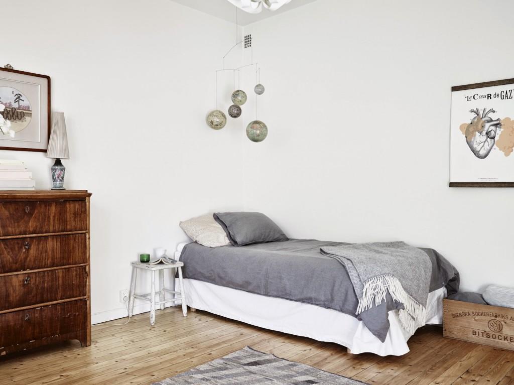 Un peque o piso con aires vintage volgende halte for Vivir en un piso pequeno con ninos